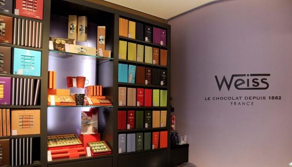 Les chocolats Weiss 100% vert