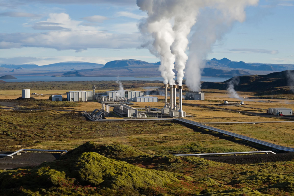 Centrale géothermique de Nesjavellir, Islande