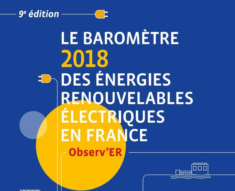 Synthèse des filières productrices d'électricité renouvelable en France.